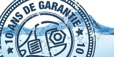 10 ans de garantie