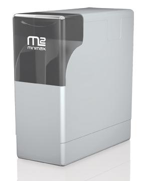 Minimax adoucisseur d'eau compact